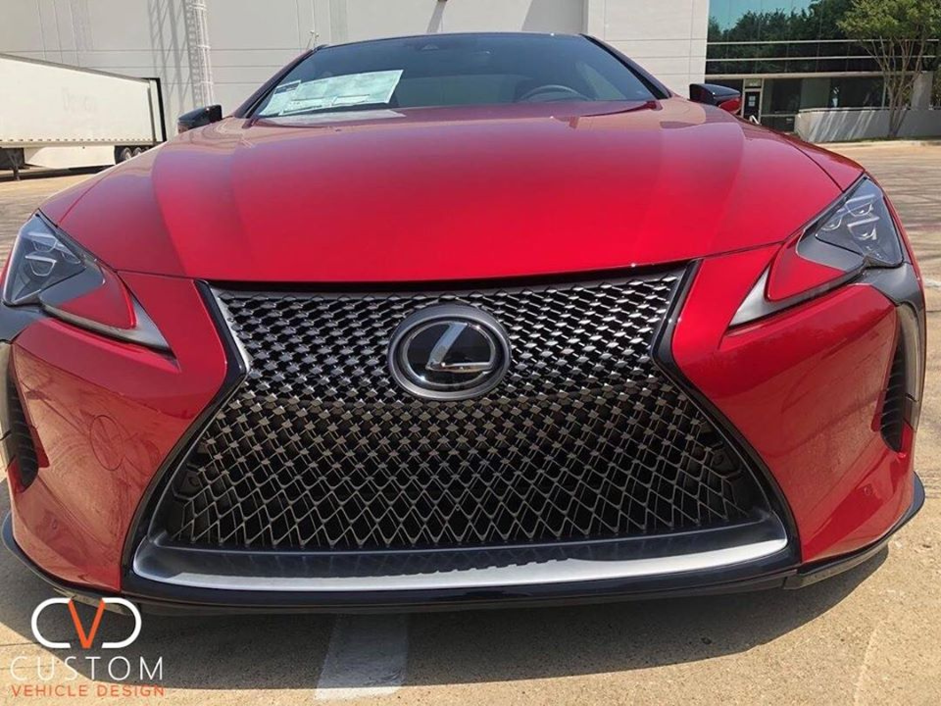 Lexus 2019 LC500 from Park Place Grapevine Lexus with Vossen HF-2 wheels