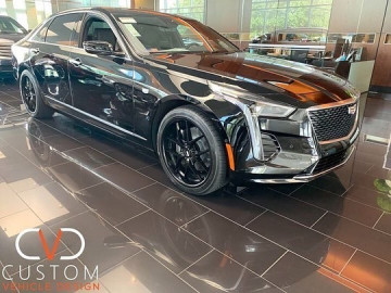 2019 Cadillac CT6 with 20inch XO Cairo Wheels