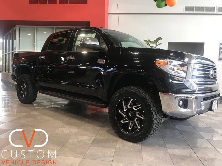 """2019 Toyota Tundra with 20"""" Vision Spyder wheels ⠀"""