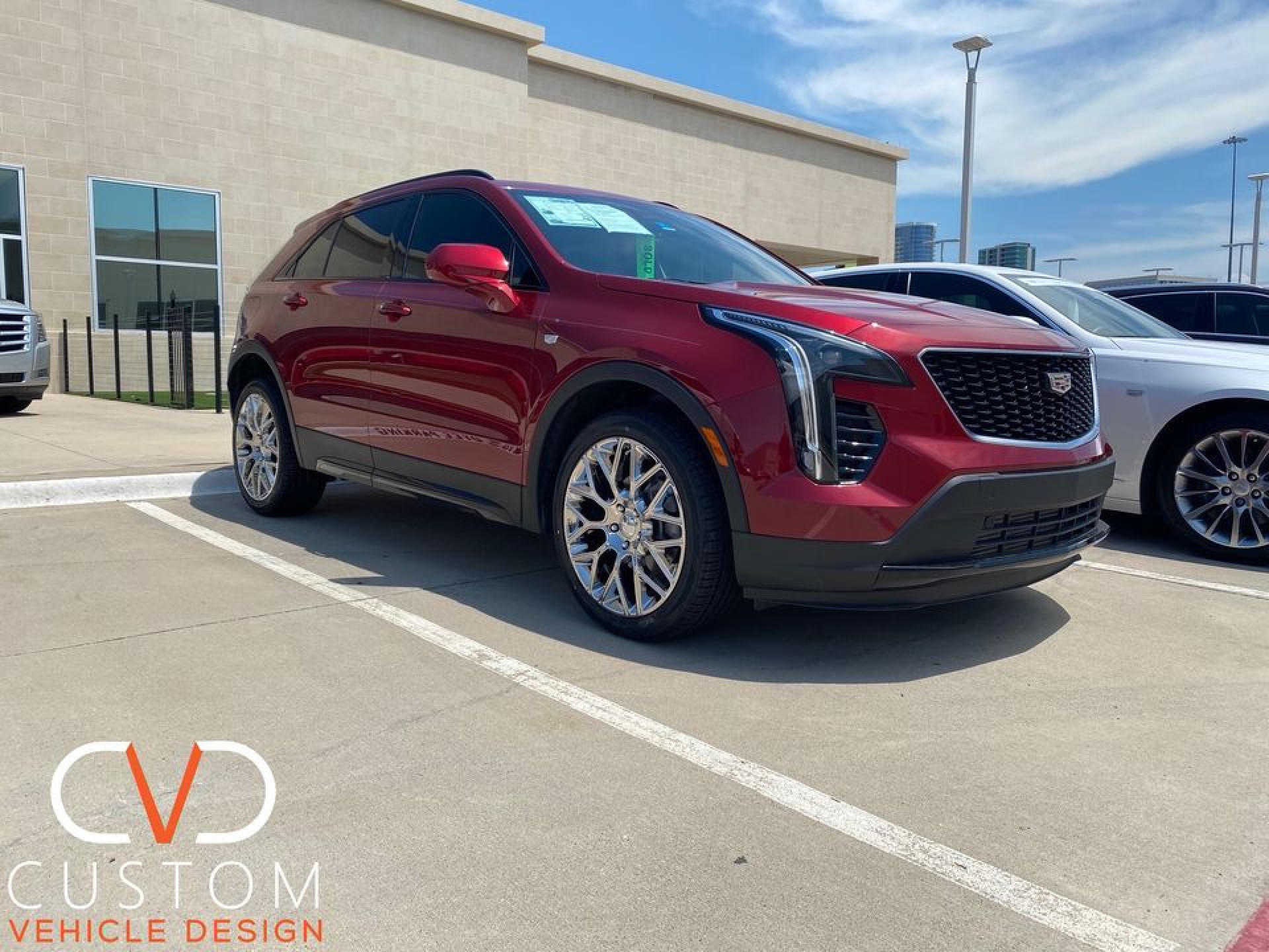 2020 Cadillac XT4 with Vogue VT375 wheels