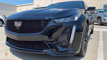 2020 Cadillac CT5-V with complete blackout package done by CVD! ⠀