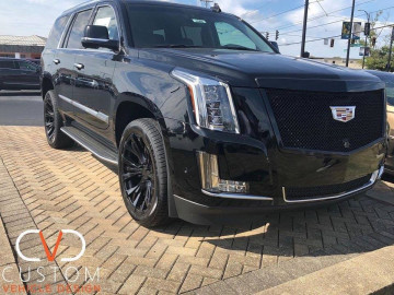 Cadillac Escalade on Vogue Onxy wheels and Vogue Signature V tyres