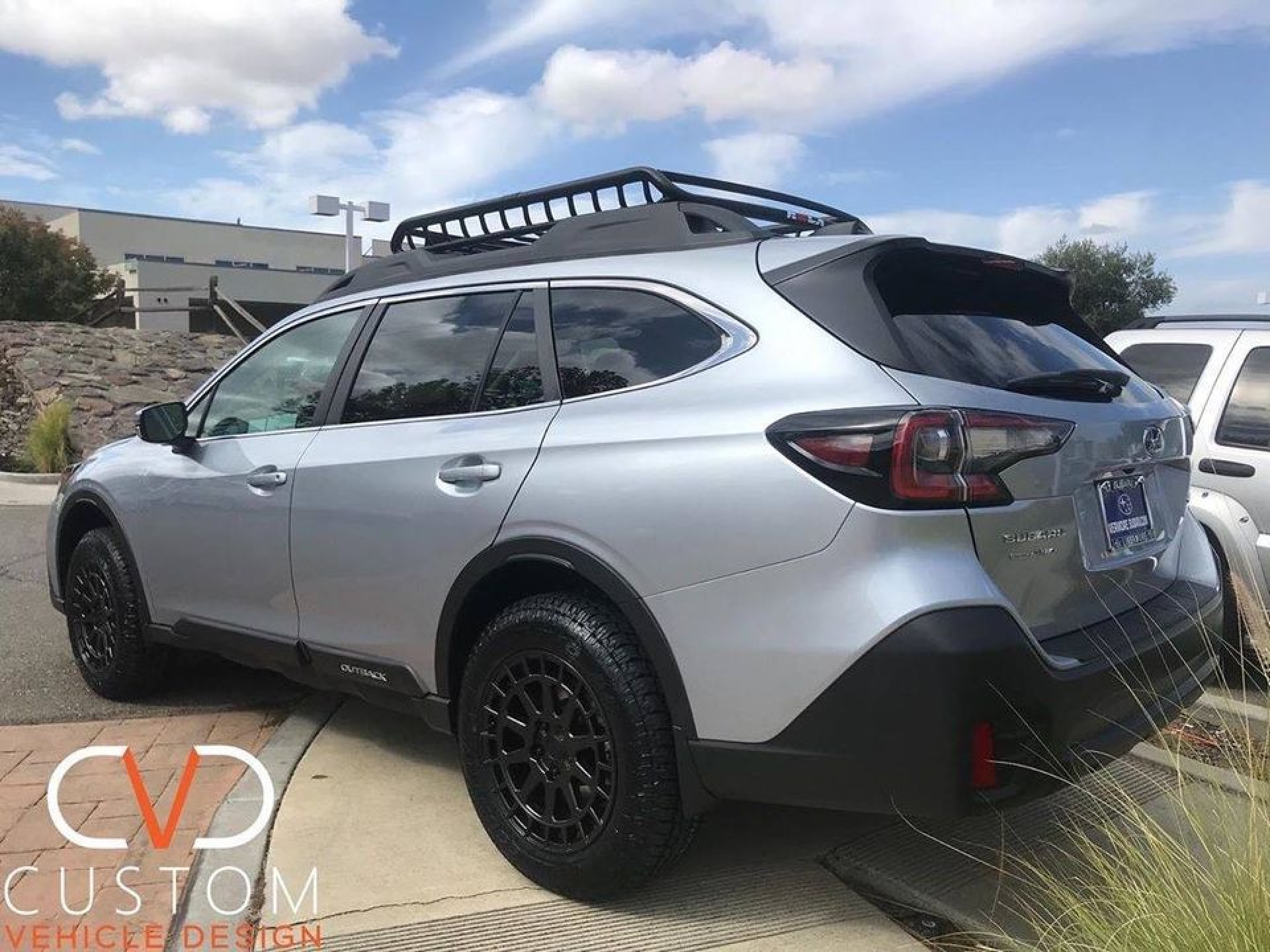 2020 Subaru Outback with the CVD Overland package (Black Rhino boxer wheels)