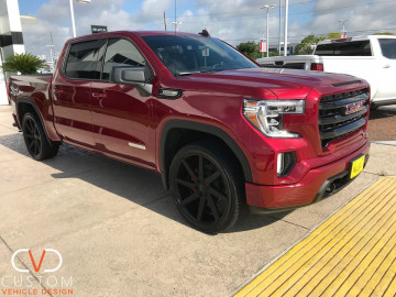 "2020 GMC Sierra Elevation With 24"" Brute wheels by TSW and Vogue Tyres"