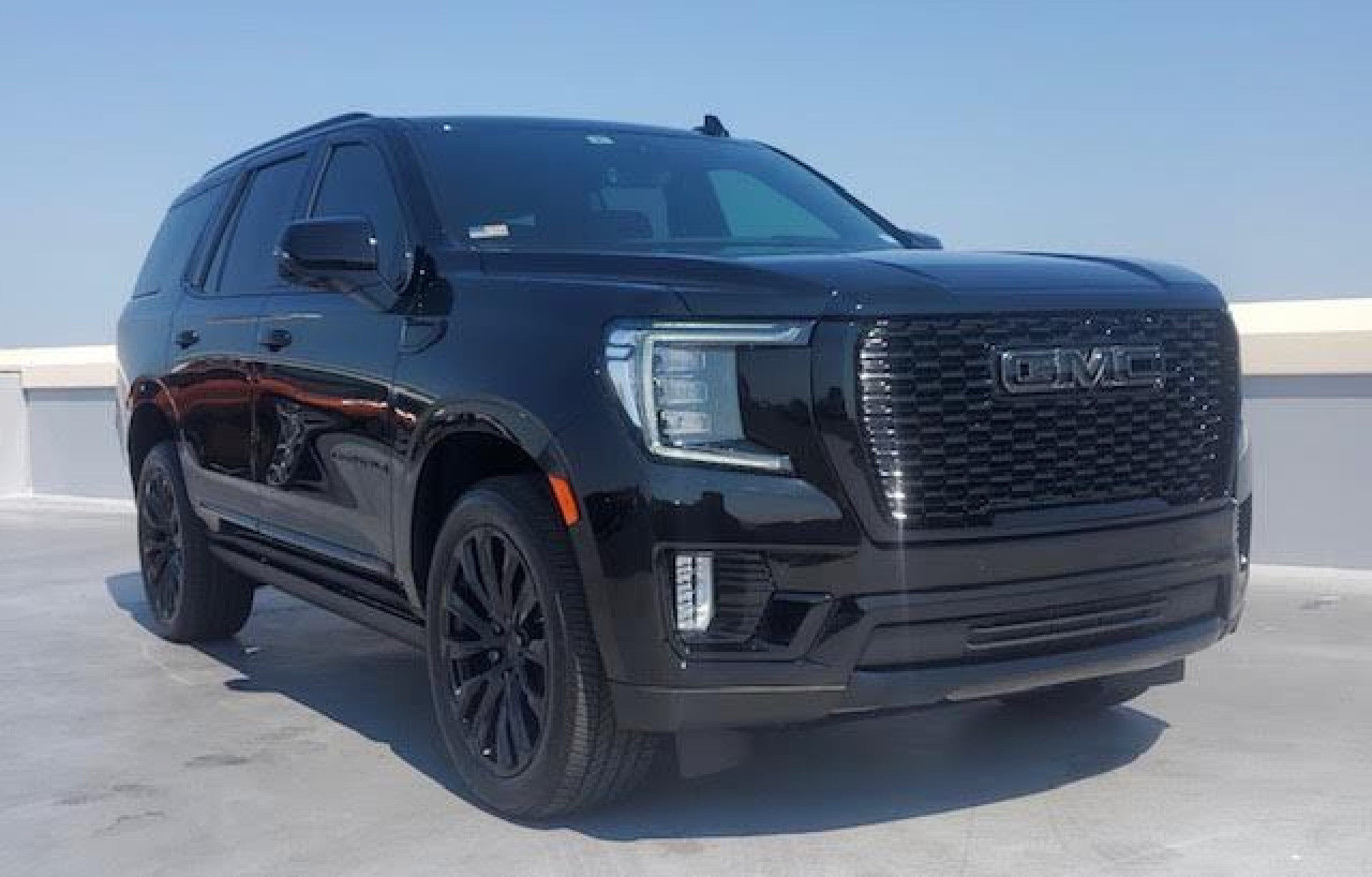 2021 GMC Yukon fully blacked out