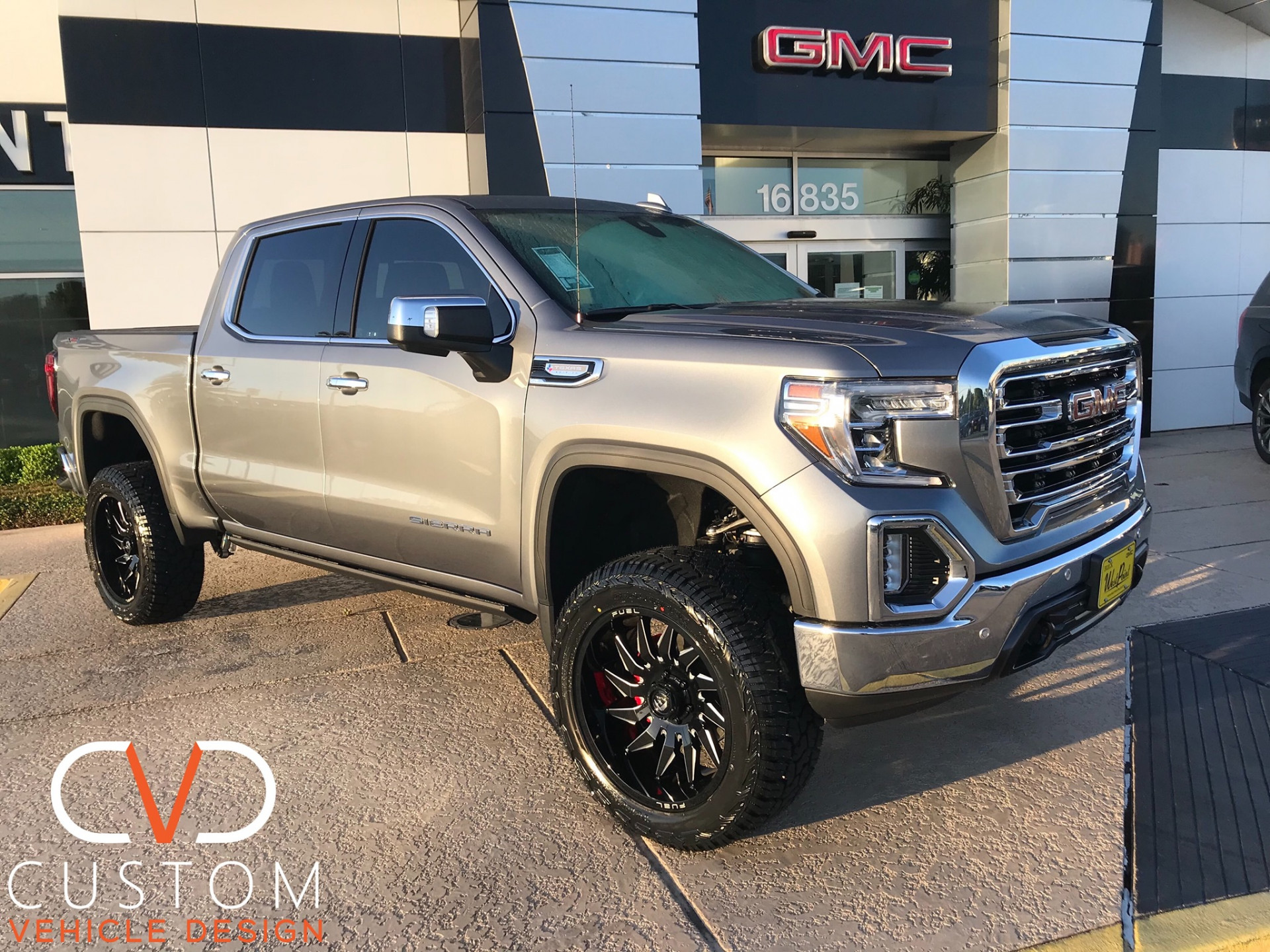 "2020 GMC Sierra with 22"" Fuel Sledge wheels"