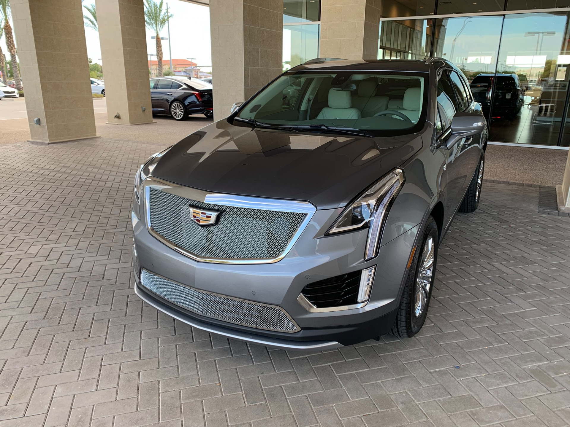2021 Cadillac XT5 Upper/Lower Grille done by CVD