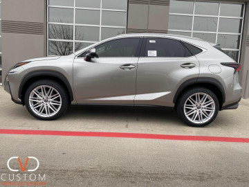 "2020 Lexus NX300 on 20"" Vossen VFS4 wheels"
