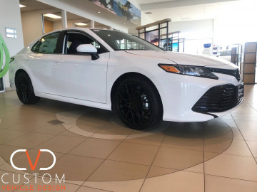 2020 Toyota Camry with TSW Sebring wheels ⠀