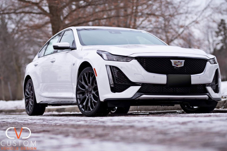 2020 Cadillac CT5 with Vogue VT383 wheels and Vogue Signature V Tyres.