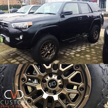 Toyota 4Runner with 20 inch Black Rhino Hollister wheels