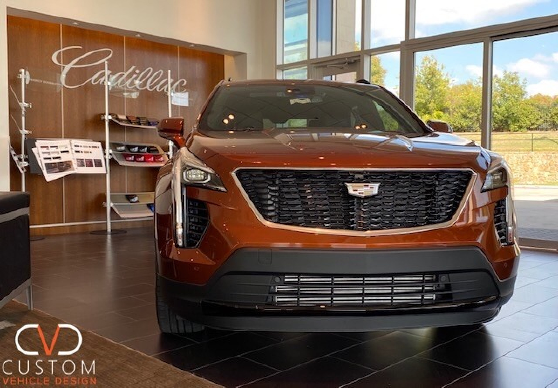 2021 Cadillac XT4 with Vogue VT383 wheels