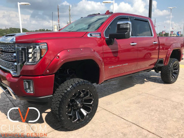 2020 GMC Sierra Denali 2500HD with Fuel Assault wheels
