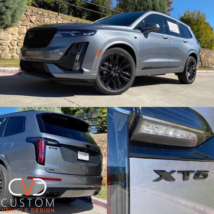 2021 Cadillac XT6 with factory wheels