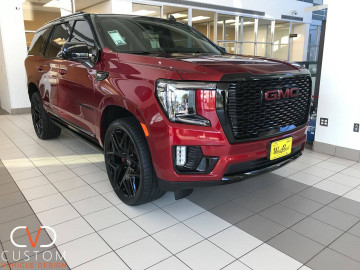 "2021 GMC Yukon Denali with 24"" Niche Vice Wheels and Vogue Signature V Tyres"