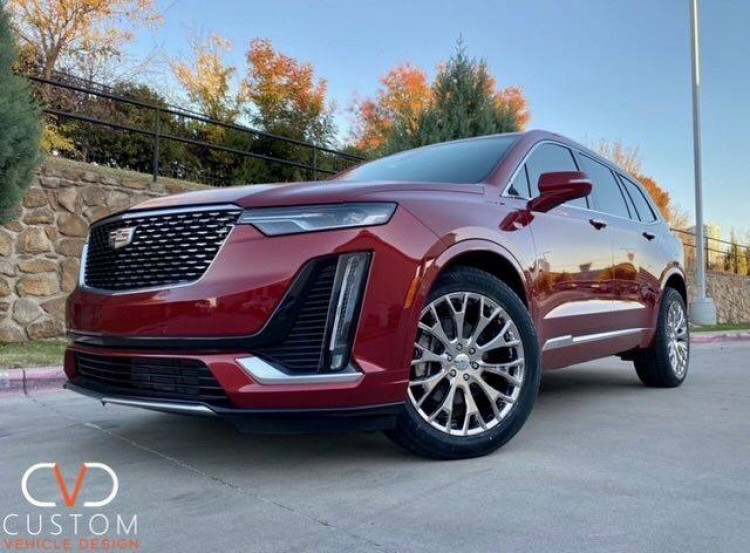2021 Cadillac XT6 with Vogue VT383 wheels and tyres