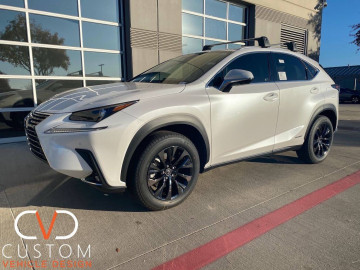 "Lexus NX300H with 18"" wheels"
