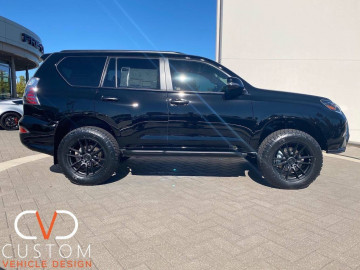 "Lexus GX460 with 20"" Black Rhino Madagascar wheels"