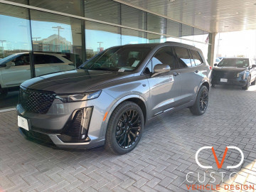 2021 Cadillac XT6 with Vogue VT383 wheels and tyres⠀