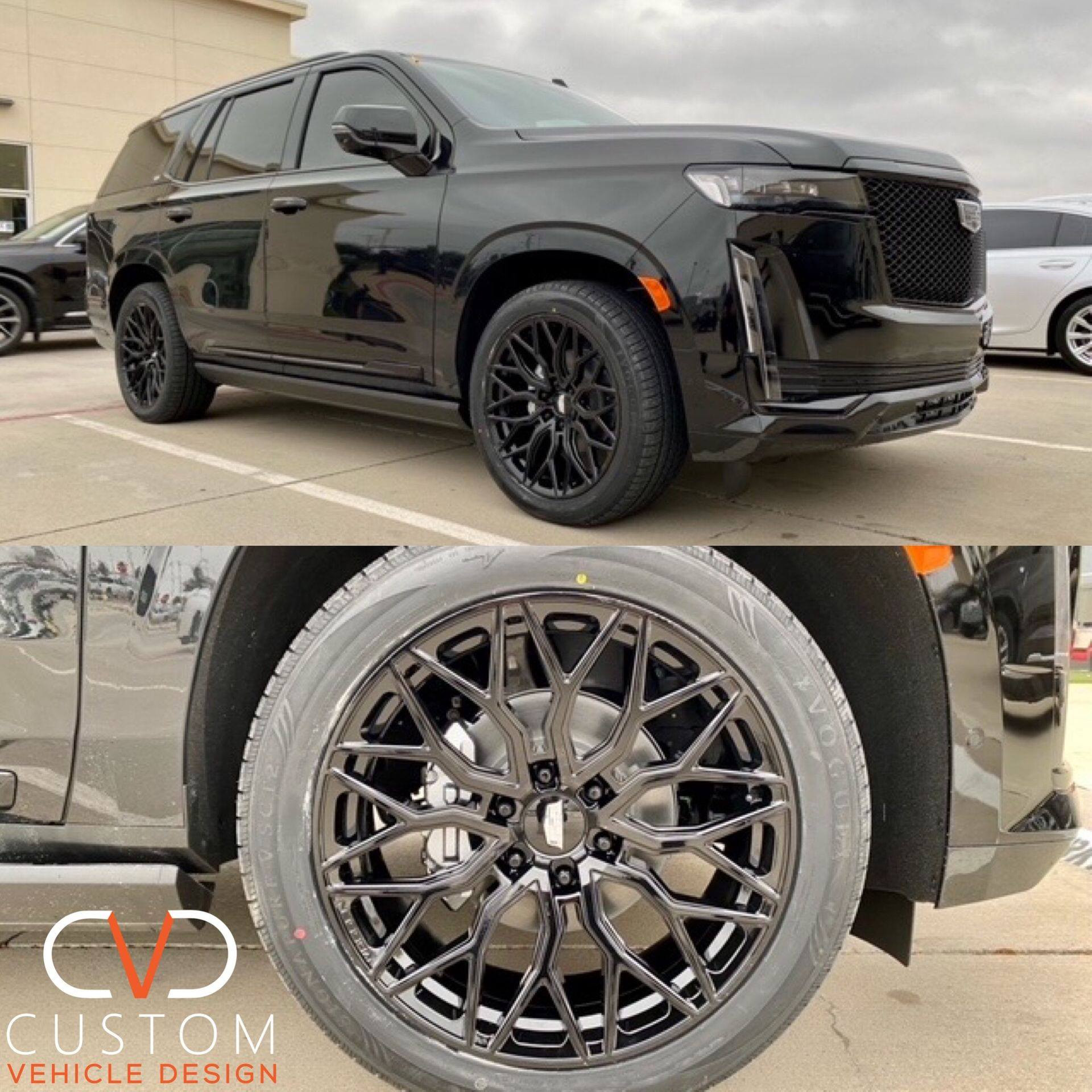 "2021 Cadillac Escalade with 24"" Vossen Wheels & Vogue Signature V Tyres"
