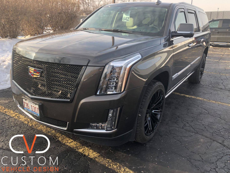 2021 Cadillac Escalade with Vogue wheels and Tyres