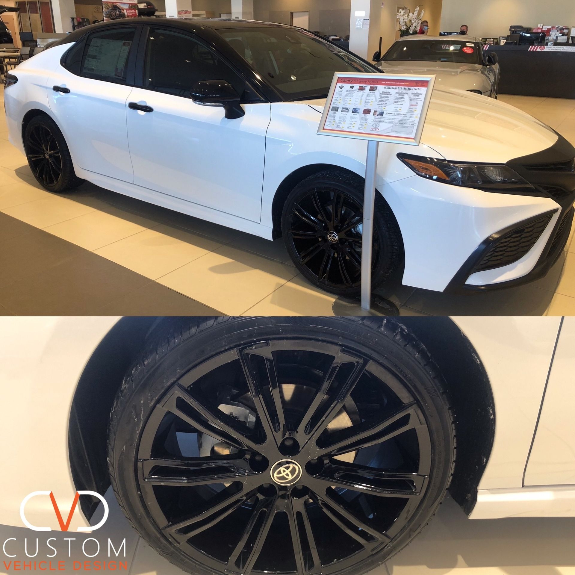 2021 Toyota Camry customized by CVD