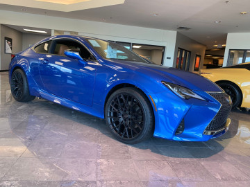 Lexus RC350 with 20inch XO Phoenix double black wheels