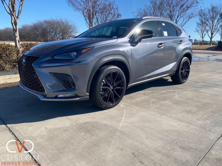 """2021 Lexus NX300 with 20"""" Vossen HF3 wheels with Vogues Signature V Tyres"""