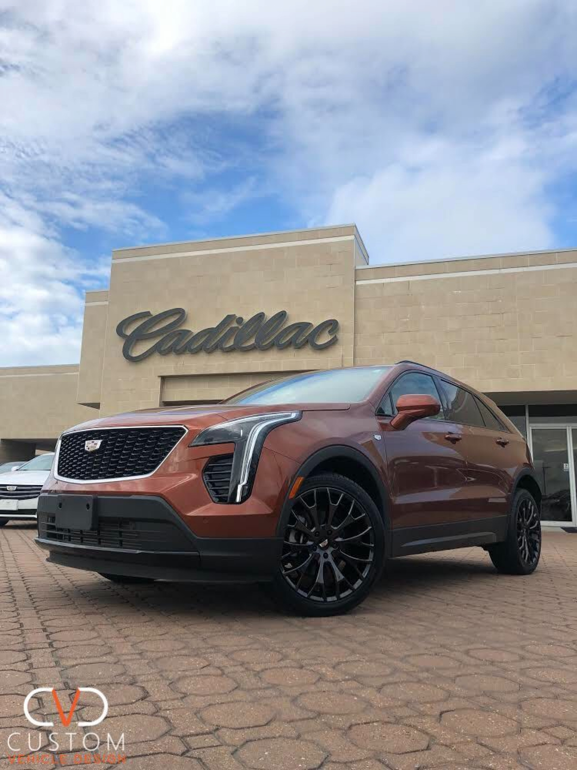 """Cadillac XT4 with 20"""" Vogue VT383 Wheels and Vogue Signature V Tyres"""