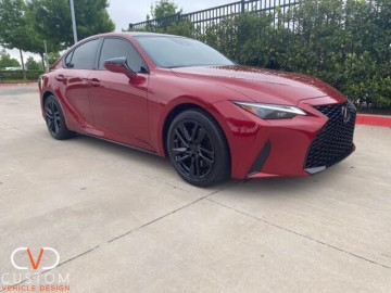 2021 Lexus IS300 customized by CVD