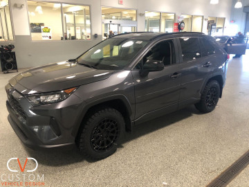 Black Rhino Wheels on a SUV customized by CVD. Call us to customize your vehicle today!