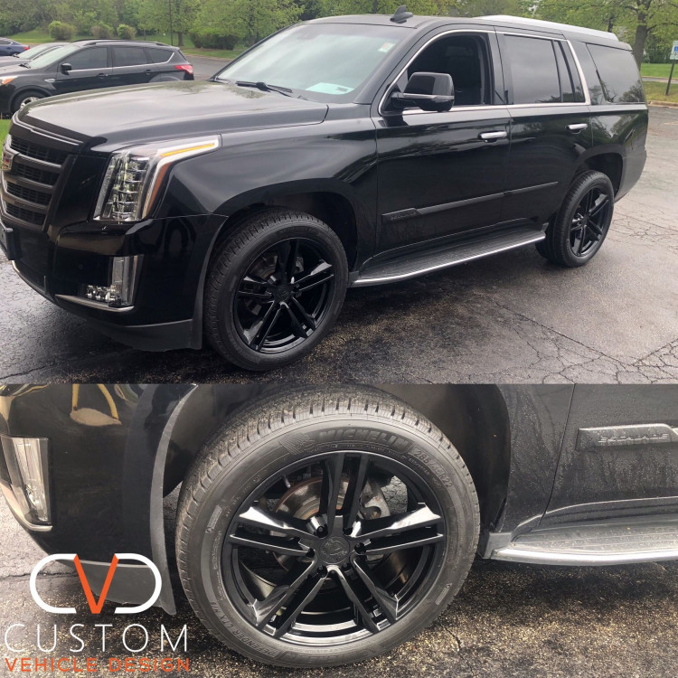 Cadillac Escalade with Vogue Whees done by CVD