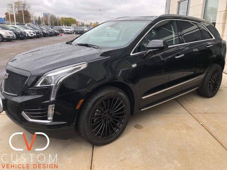 Cadillac XT5 with Vogue wheels and tyres