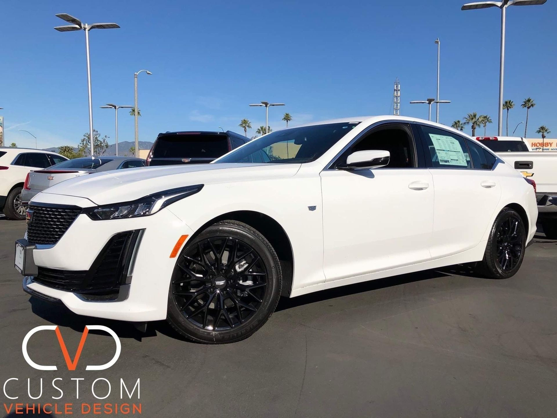 """2020 Cadillac CT5 with 18"""" Vogue VT384 Wheels"""