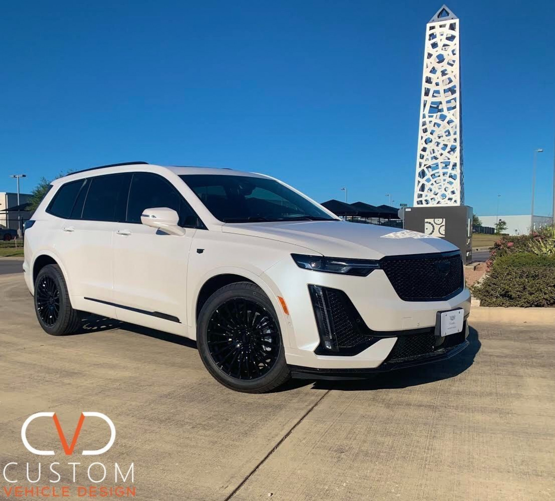 2021 Cadillac XT6 with Vogue VT387 wheels and Vogue signature V Tyres