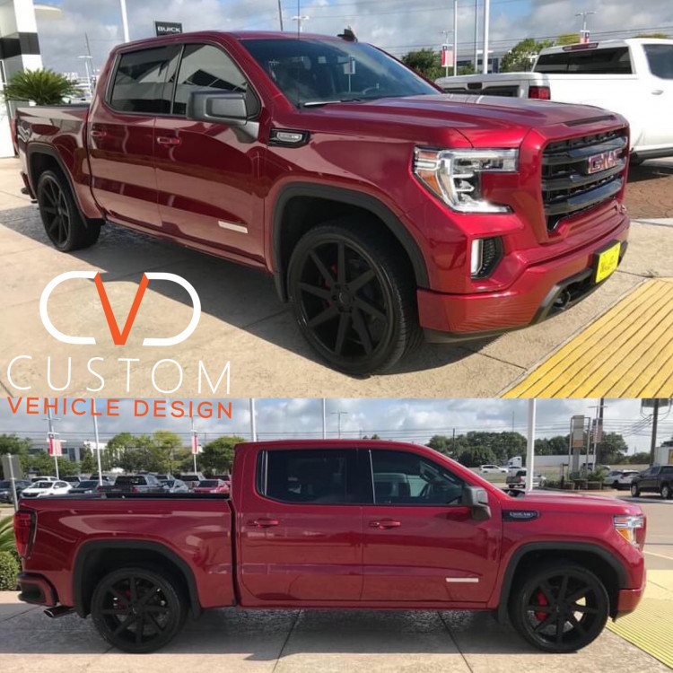 """GMC Sierra Elevation With 24"""" Brute wheels by TSW and Vogue Tyres"""