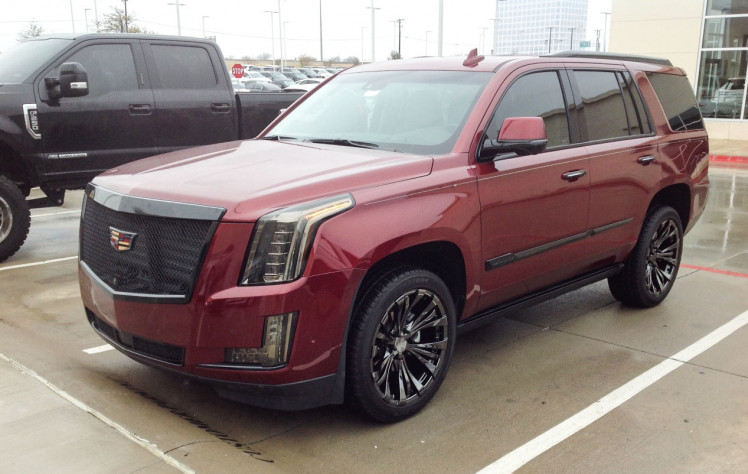 Cadillac Escalade Black Out Package and Rampage Wheels