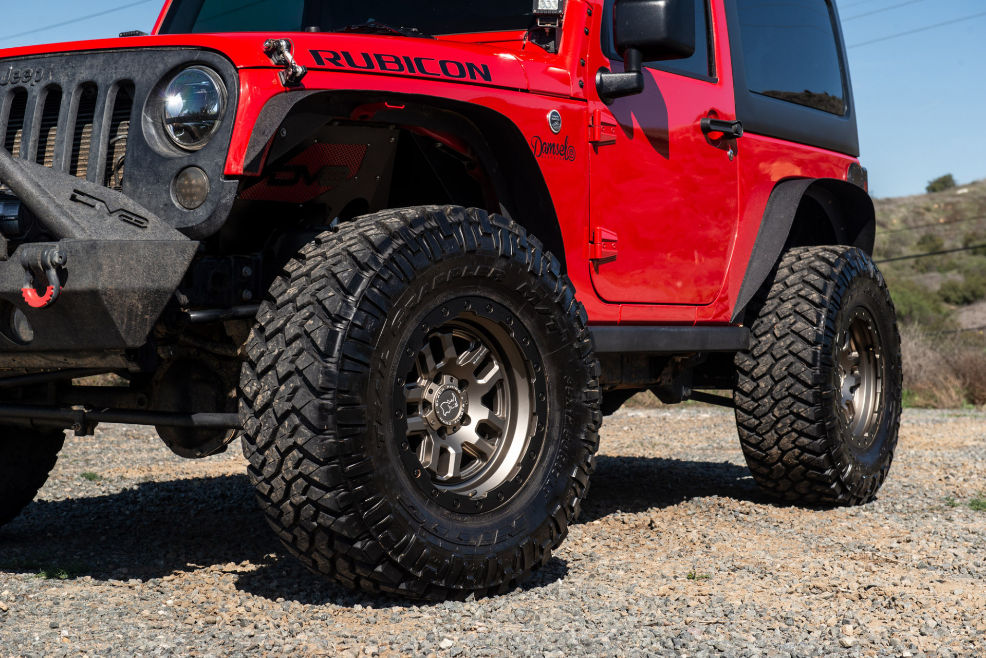 Jeep Wrangler - Black Rhino Barstow Wheels