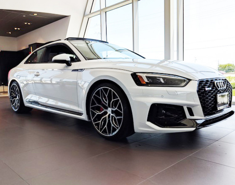 Audi RS5 - Vossen HF2 Wheels