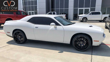 Dodge Challenger Ruff r960 wheels