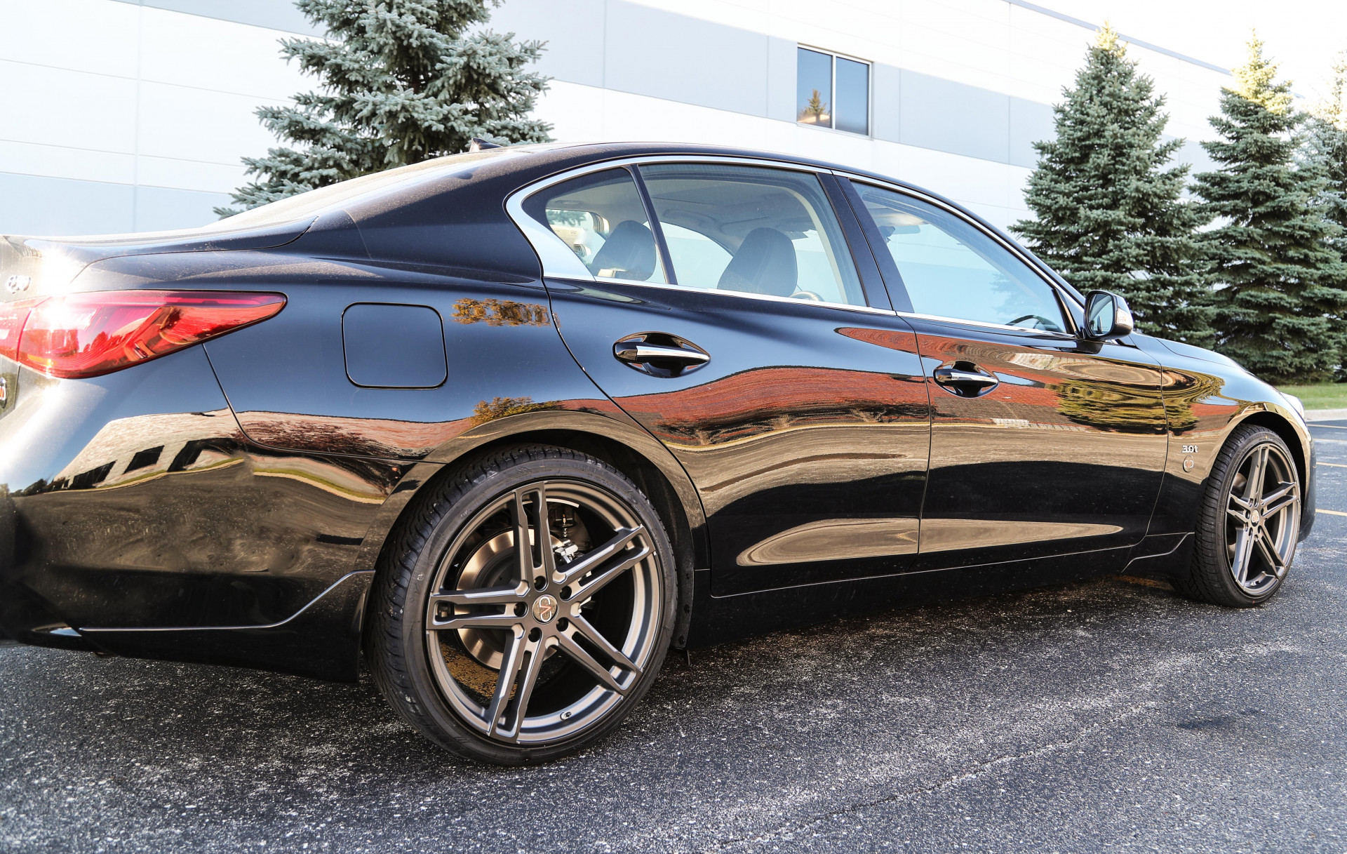 Infiniti Q50 -TSW Mechanica Wheels