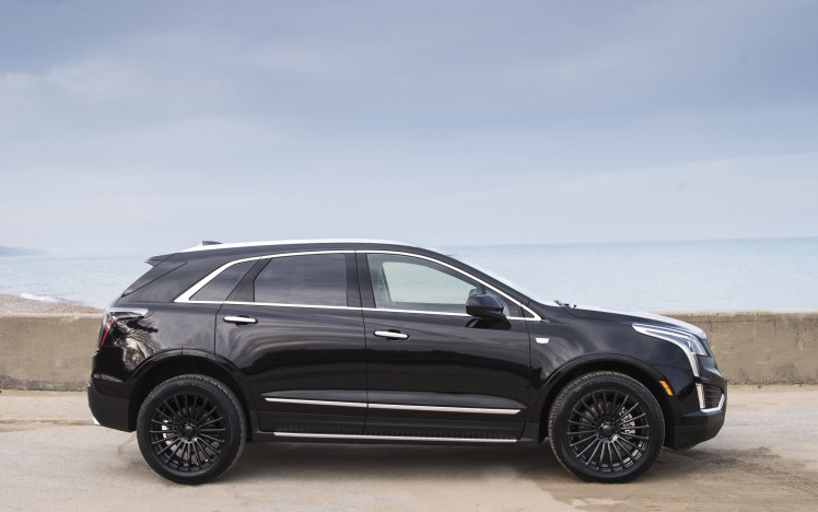 Cadillac XT5 -Onyx Edition -VT387 Gloss Black Wheels