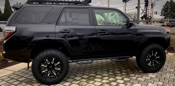Toyota 4Runner - Black Rhino Rush Wheels