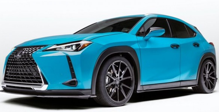 Lexus UX Full Splitter Lip Body Kit