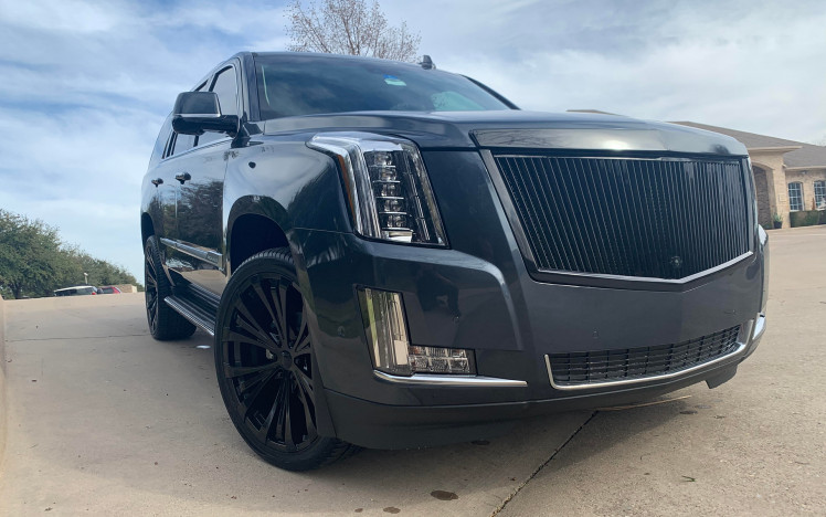 Cadillac Escalade - Onyx 24 Edition - Rampage Gloss Black