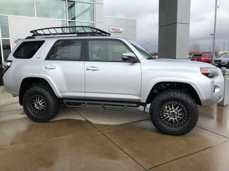 Toyota 4Runner 17 inch Black Rhino Tanay mounted on 285/70/17 BFG KO2 tires