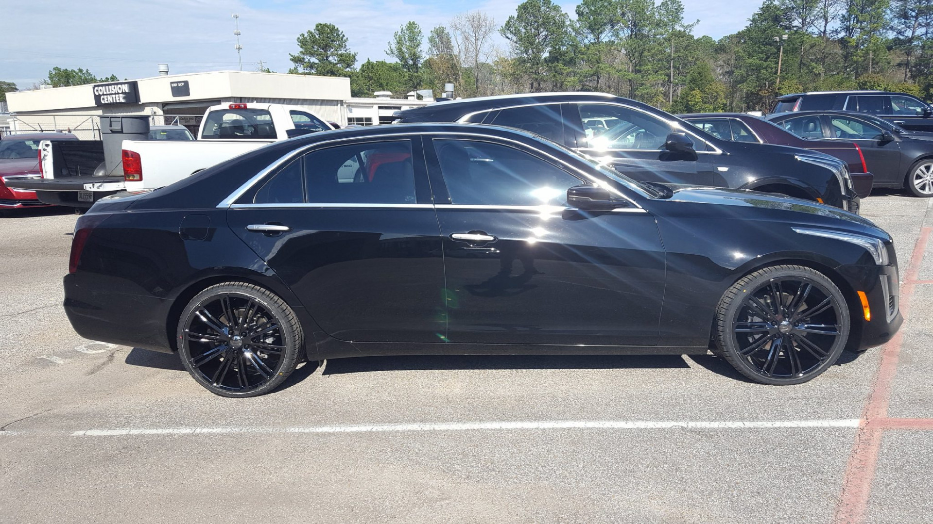 CTS VT386 Black PVD on 245/30/20