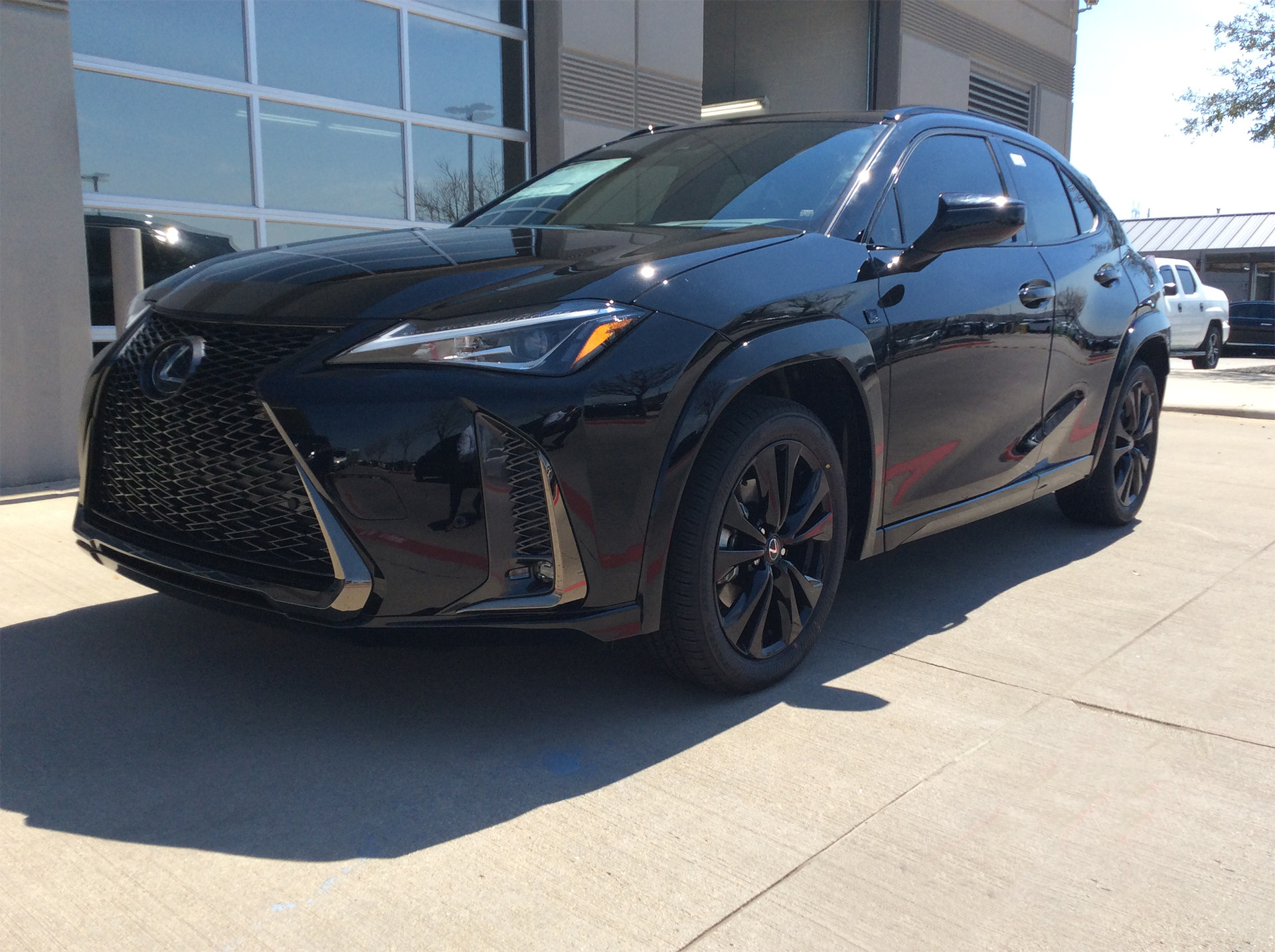 Lexus UX200 Blacked Out
