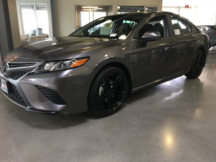 """Toyota Camry 19"""" TSW Chapelle with Toyo 235/40/19"""