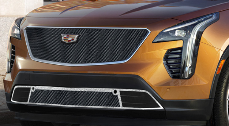 Cadillac XT4 Classic Fine Mesh Stacked Grille
